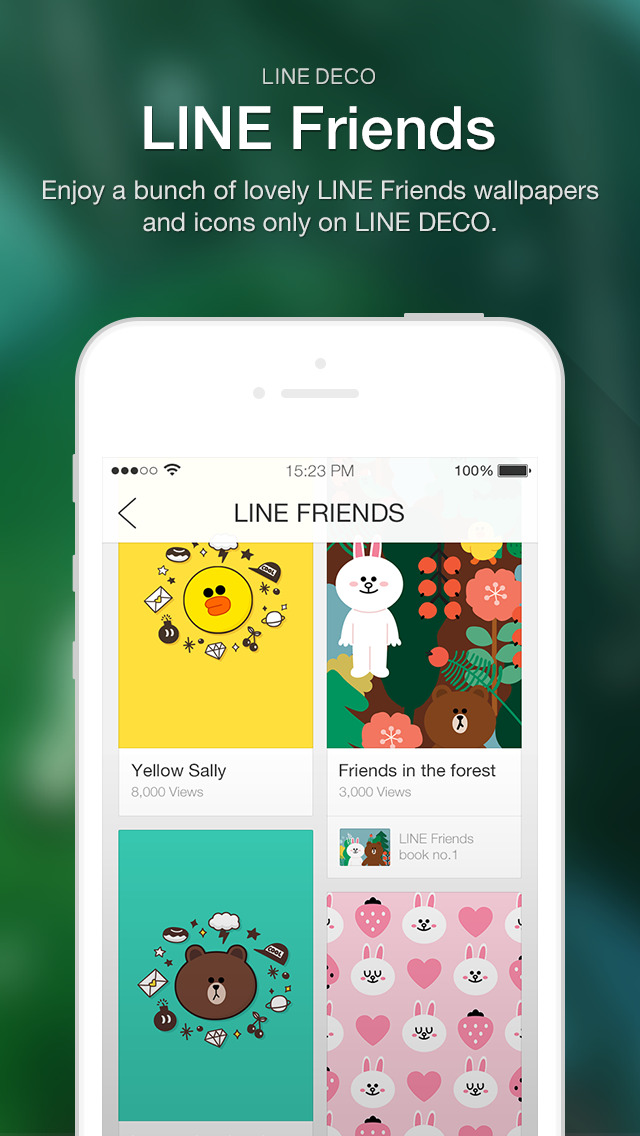 Download Line Deco Wallpapers Icons App Store