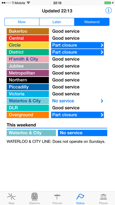 London Tube Guide - London Tube Map iPhone Screenshot 2