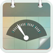 Weight Tracking Calendar - Track your daily, weekly, monthly, yearly weights and set personal goals