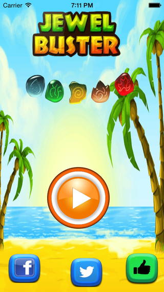 Jewel Buster Match Fun- Clash Pop and Dash the Jewels with Friends - A Top Free Game