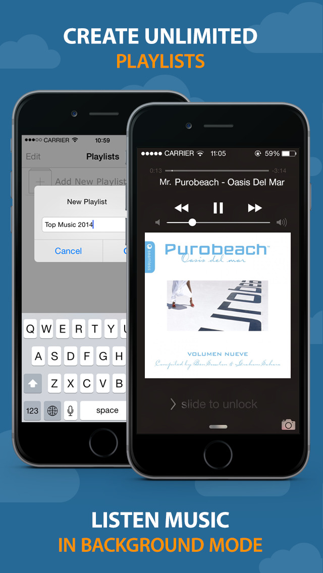 how to play an audiobook on iphone