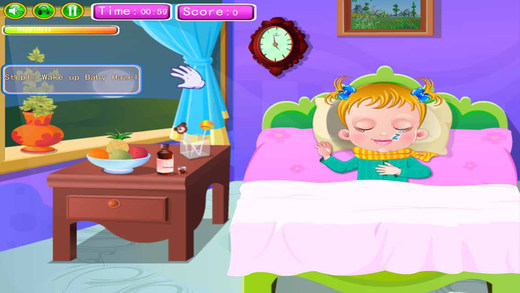 Care Sick Baby - Fun Kids Educational Game
