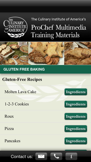 Gluten-Free Baking - CIA Cooking Methods