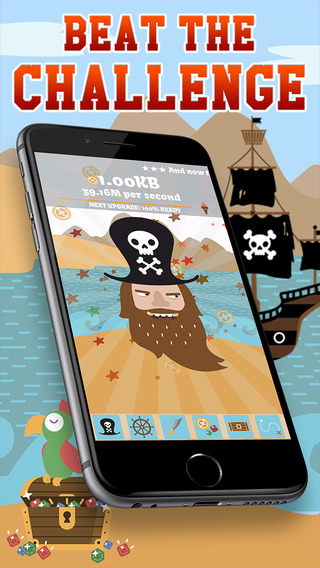 Pirate Evolution - a Caribian Journey and the love of gold Clicker Game