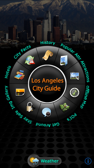 Los Angeles Offline Travel Guide