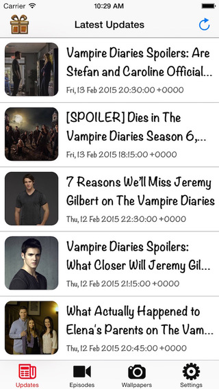 GreatApp for The Vampire Diaries - Latest News Videos Wallpapers
