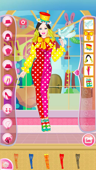Mafa Clown Princess Dress Up