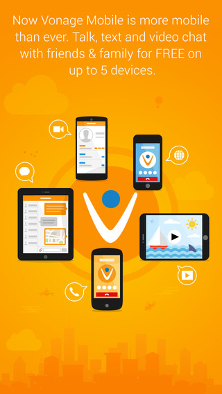 Vonage Mobile – Voice Text and Video