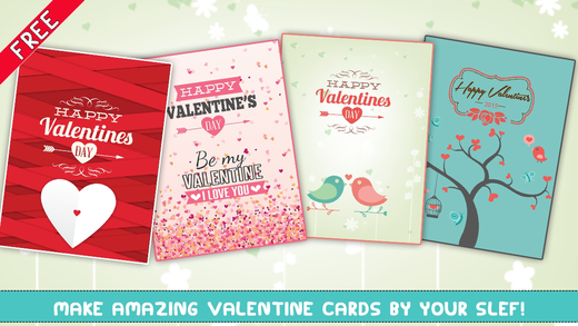 Happy Valentine's Day - Card Maker - Free