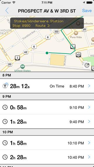 Transit Tracker - Cleveland RTA