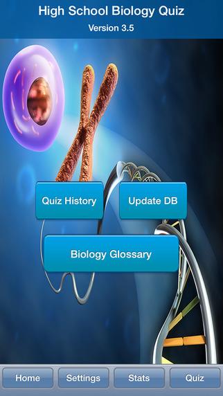 High School Biology Quiz