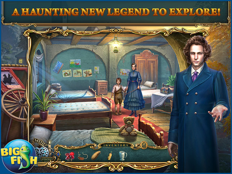 Haunted Legends: The Stone Guest HD - A Hidden Objects Detective Game Full