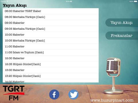 Tgrt FM iPad Screenshot 4