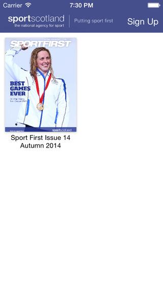 Sport First Magazine