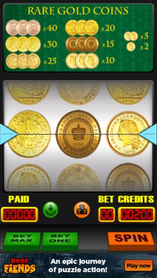 Rare Gold Coin Slots