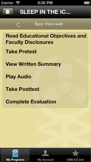 Audio Digest iPhone Screenshot 2