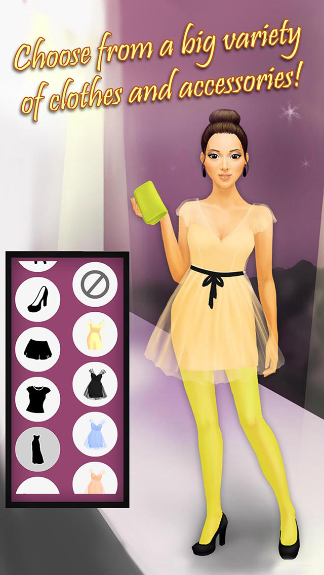 top model dress up games for girls