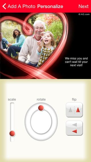 americangreetings.com eCards iPhone Screenshot 5