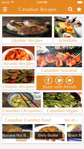Canadian Food Recipes - best cooking tips ideas meal planner and popular dishes .