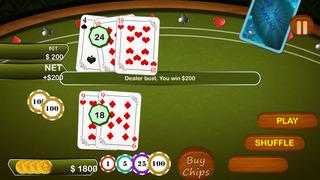 Screenshot 1 Высокая Доля Блэкджек Таблице — лучшие карты казино азартные игры