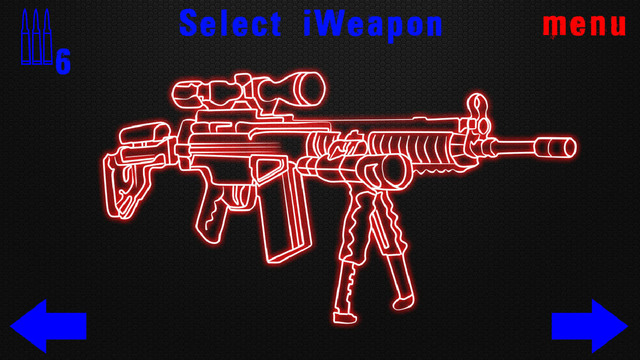 Simulator Neon Weapon