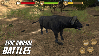 Cape Buffalo Simulator - HD screenshot 4