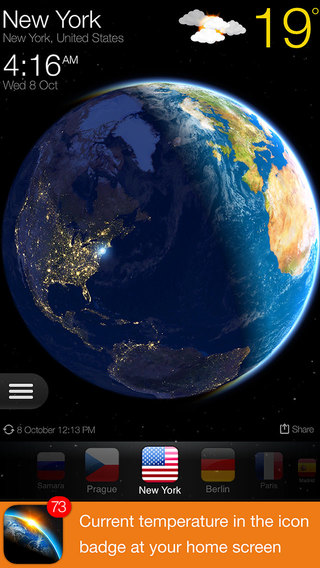 WEATHER NOW º - Local Forecast and Living 3D Earth.