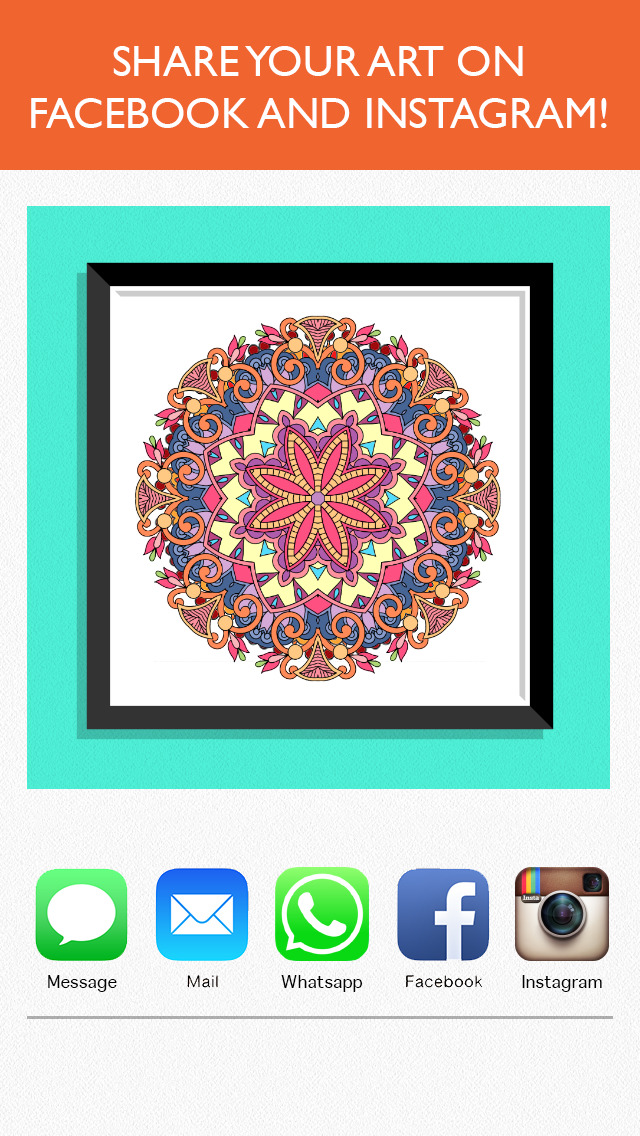 Colorfy Coloring Book For Adults Screenshot