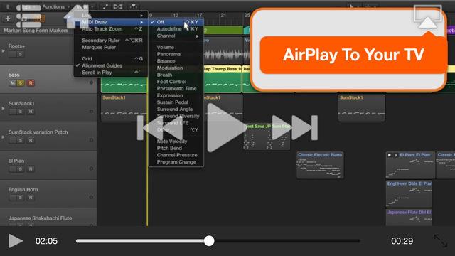 音樂必備免費app推薦 MIDI Recording and Editing in Logic Pro X線上免付費app下載 3C達人阿輝的APP