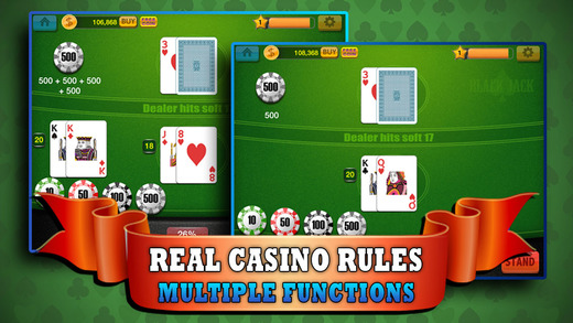 Pro Blackjack 21 - Practise Your Casino Game and Blackjack Skill for FREE