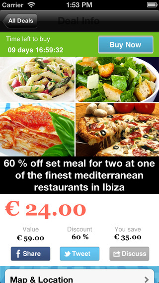 IbizaDailyDeals – Coupons Offers Discounts: Ibiza Restaurants Hotels Spas Yoga Clubs Gigs Concerts B