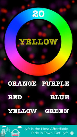 Color Code Experiment