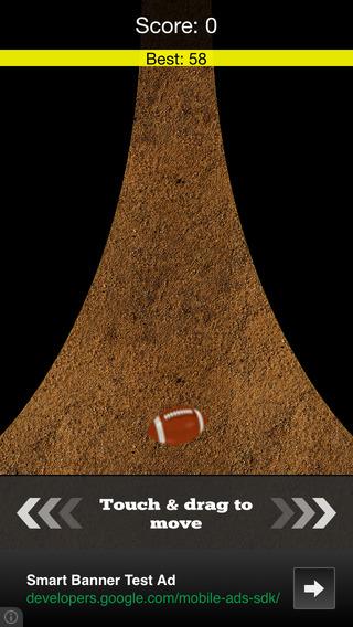 American Football Line Runner