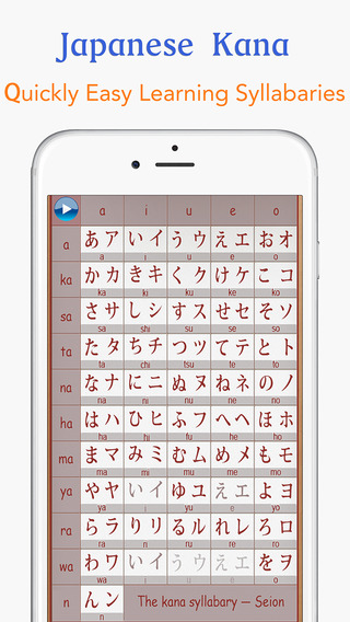 Japanese Kana-Learn Easily