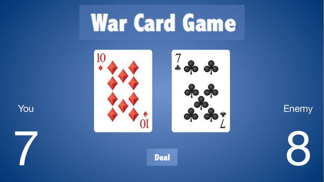 War Card Games