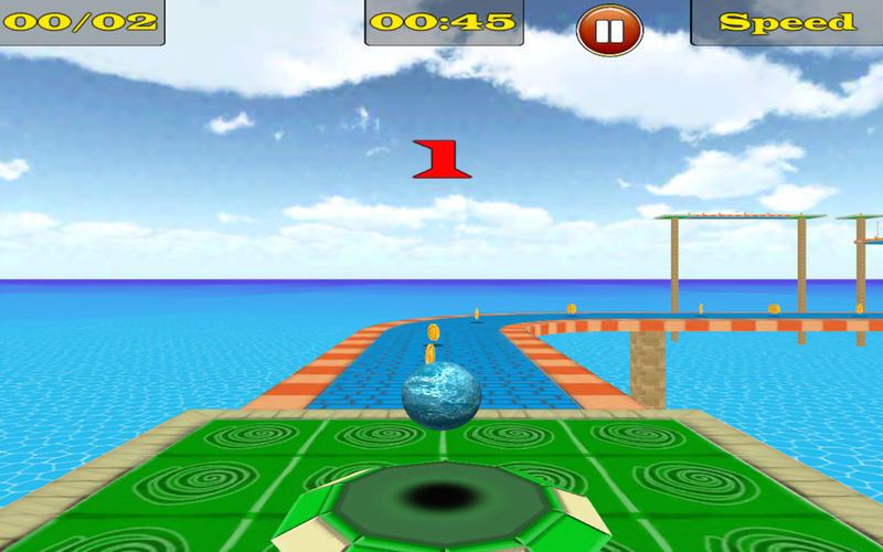 Bouncing Ball 3D Free Screenshot - 5