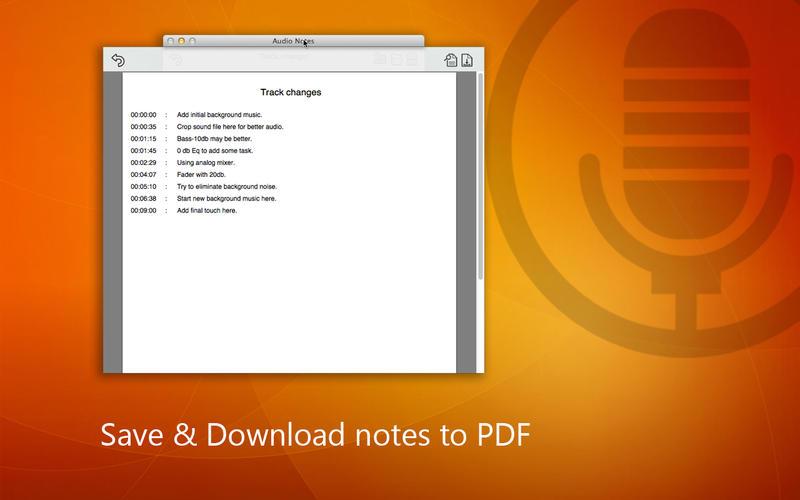 Audio Notes Screenshot - 4