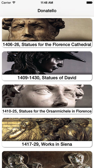 Donatello image gallery