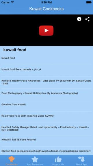 Kuwait Cookbooks - Video Recipes