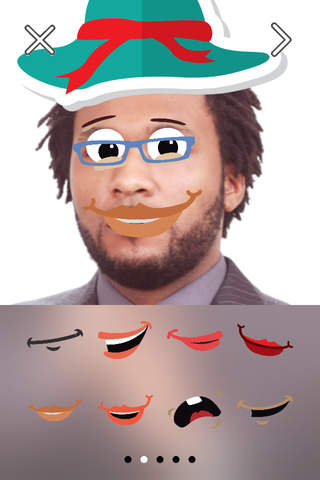 Funny Face FREE Photo Stickers App screenshot 4