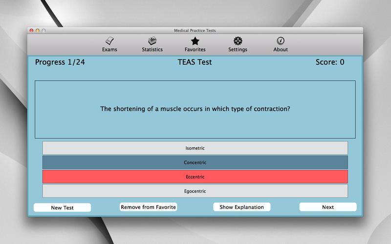 Medical Practice Tests Screenshot - 2