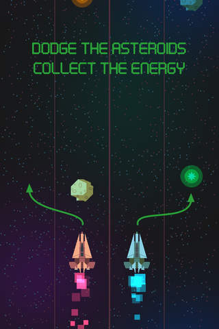 Asteroid Race - Dodge and Survive: Free and Addictive Retro Arcade Action Game screenshot 2
