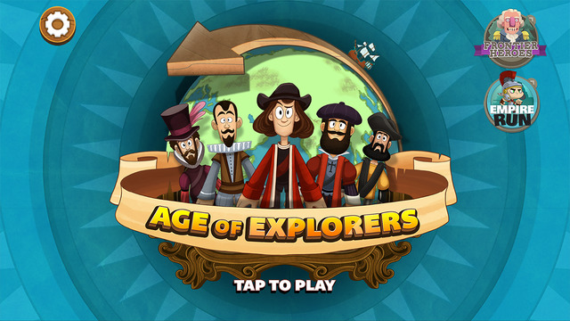 Age of Explorers - A Planet H game from HISTORY