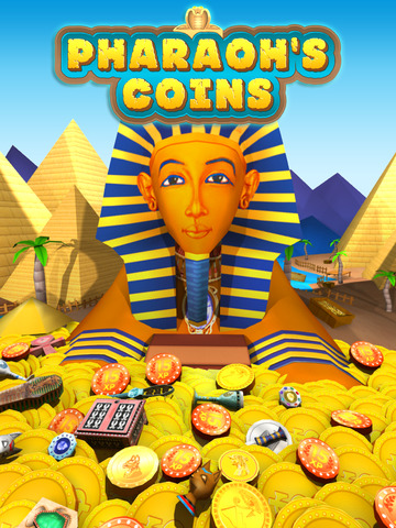 玩遊戲App|Pharaoh's Coins - Gold Pharoh Ancient Token Dozer免費|APP試玩