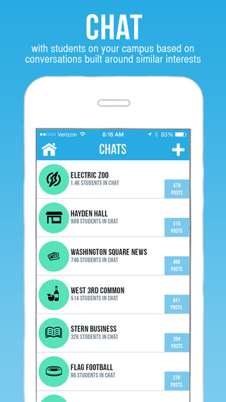 DormChat - Meet your Campus