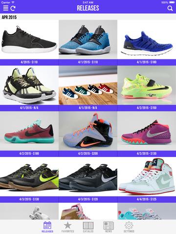 Sneaker Crush - Release Dates for Air Jordan & Nike Sneakers! screenshot