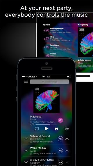 OutLoud - Social DJ App