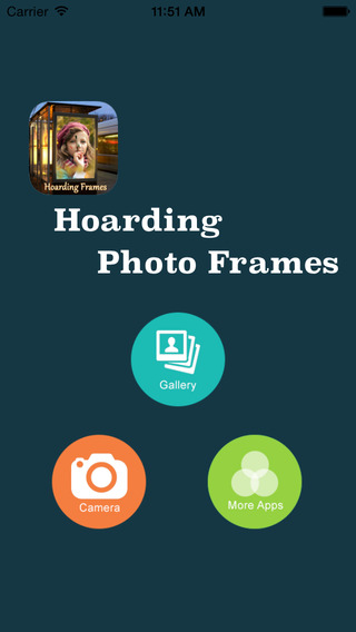 Hoarding Photo Frames
