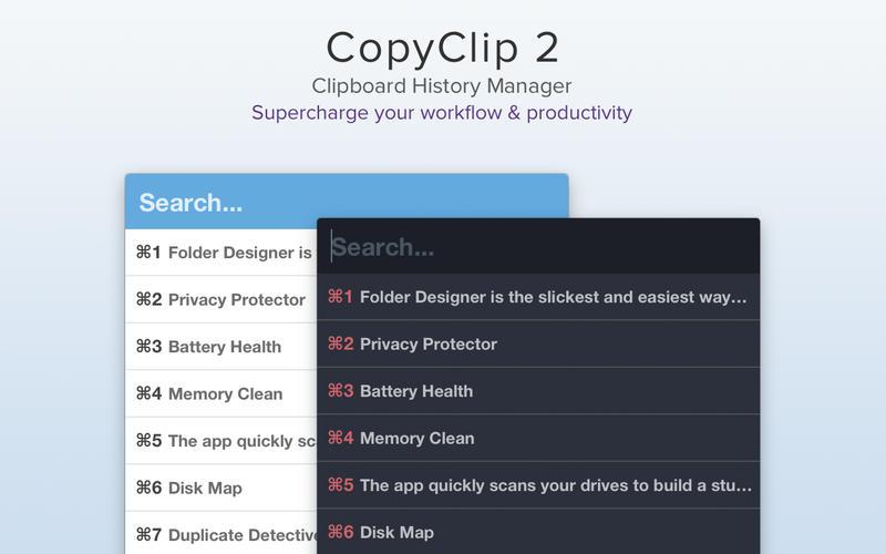 CopyClip 2 for Mac 2.9.5 破解版 – 优秀的剪切板增强工具-麦氪派