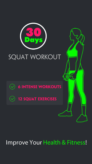 30 Days Squat Workout